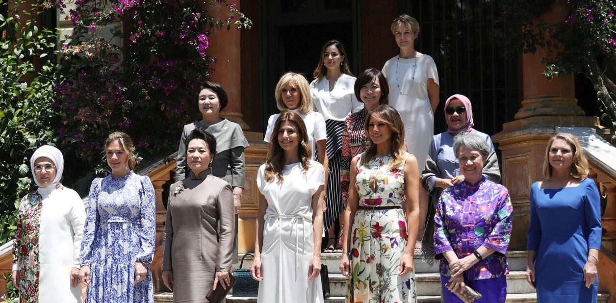 Las primeras damas del G20. Imagen: Pilar Olivares/Reuters