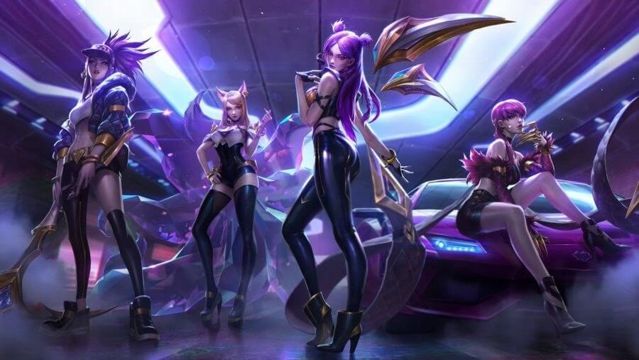 K/DA, la banda k-pop virtual que salió de un videojuego para conquistar a la Internet y al público pop