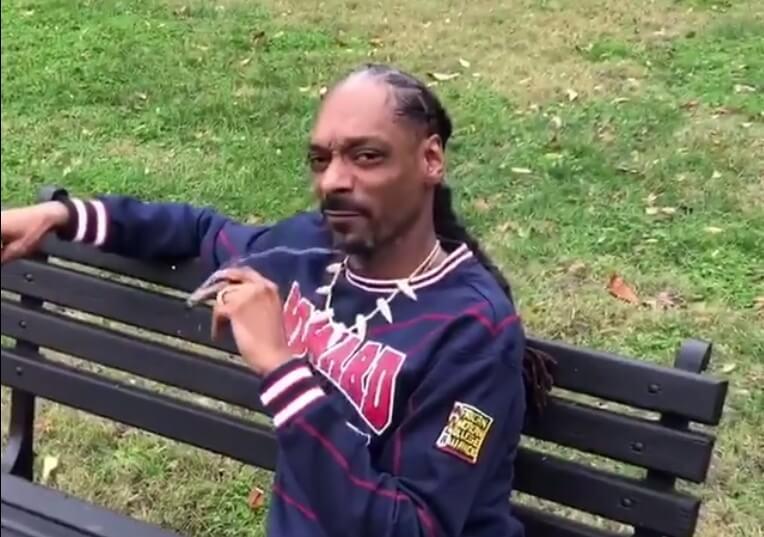 """VIDEO: Snoop Dogg se fue a la Casa Blanca a fumar weed y trollear a Trump: """"Fuck the President"""""""