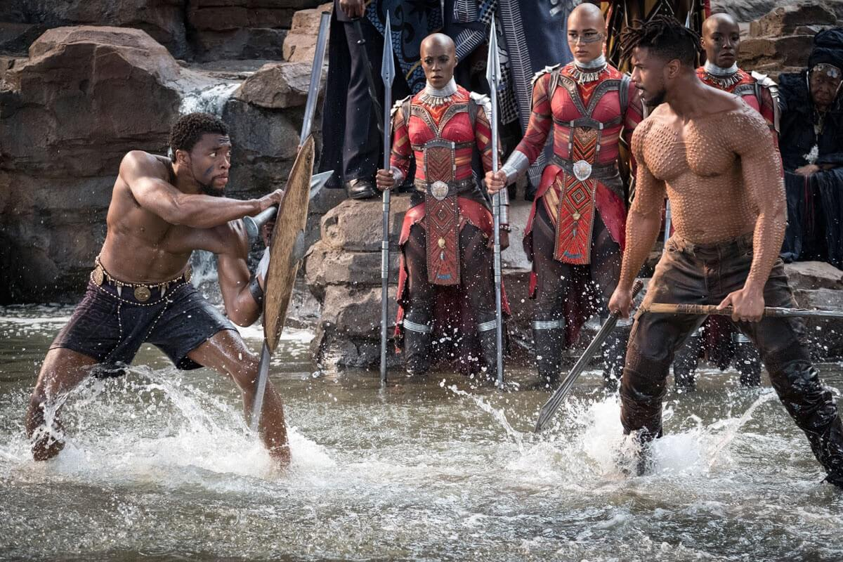 Black Panther. Imagen: Marvel Studios