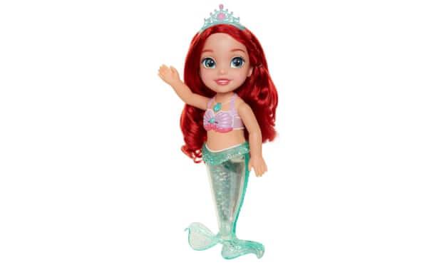La muñeca confeccionada en las fábricas chinas. Imagen: Disney
