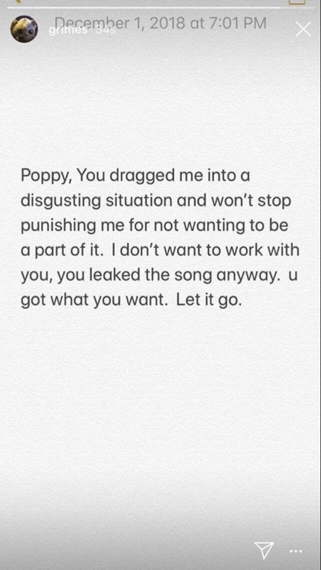 Imagen: Grimes/Instagram