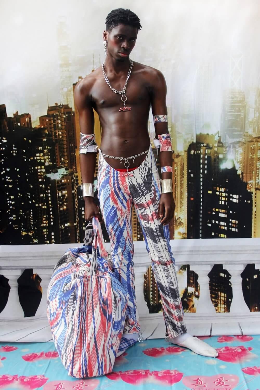 Mowalola Ogunlesi. Fotografía: Ruth Ossai/Mowanlola
