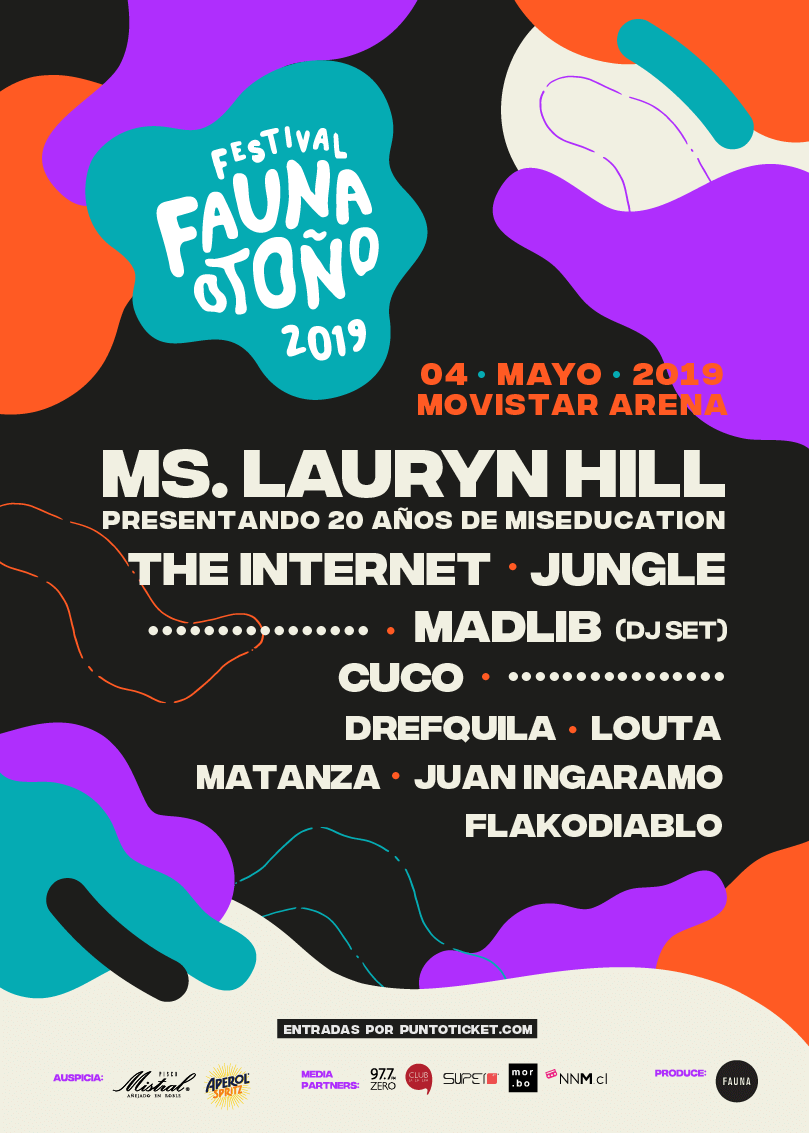 Poster oficial Fauna Otoño 2019.