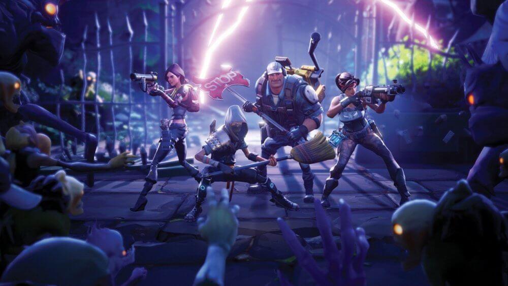 Fortnite. Imagen: Epic Games