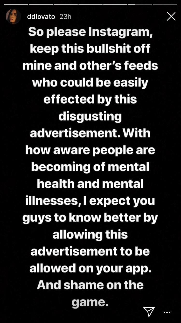 Imagen: Dami Lovato/Instagram