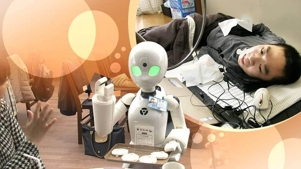 Este café japonés es atendido por robots operados por personas con movilidad limitada