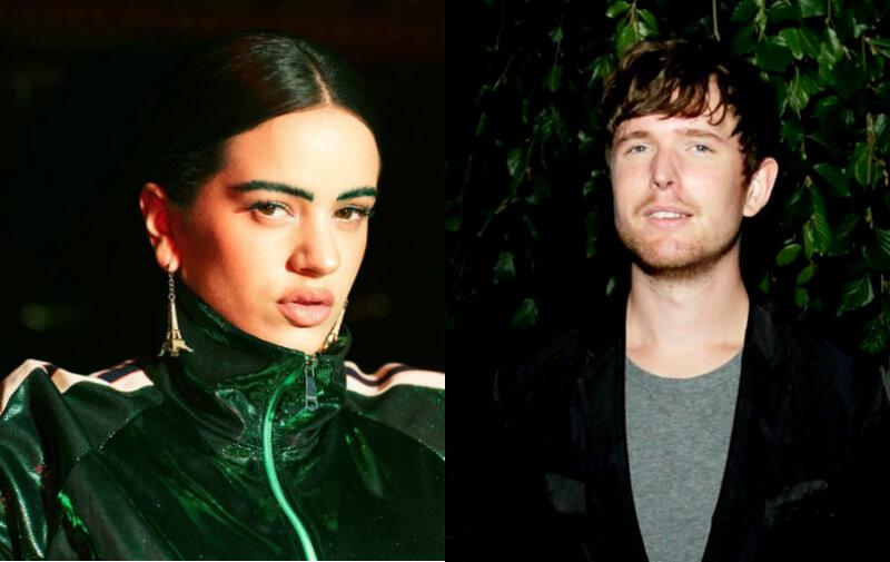 Así sonará la próxima colaboración entre Rosalía y James Blake