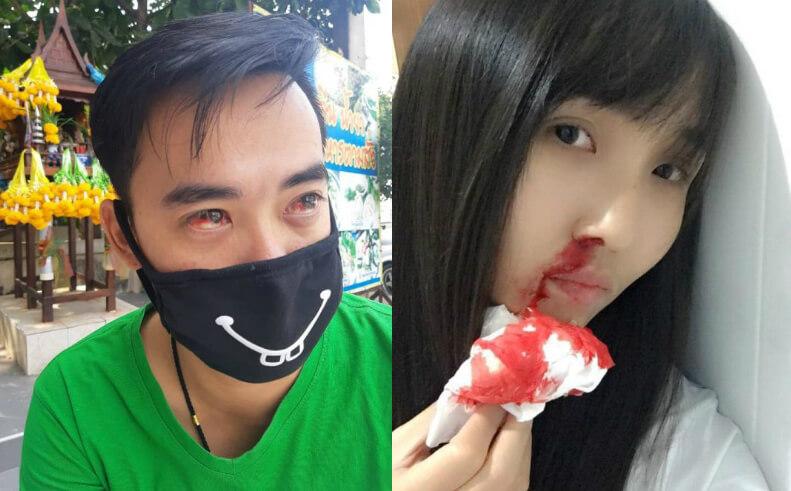La contaminación en Bangkok es tan hardcore, que hay personas tosiendo sangre