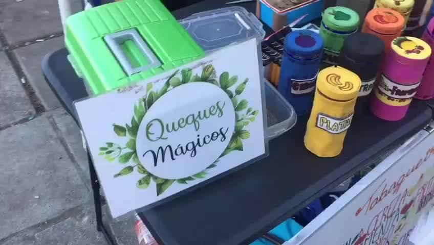 """Los """"queques mágicos"""". Imagen: BioBio"""