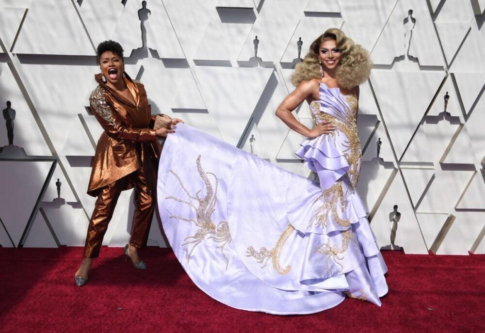 Jennifer Lewis y Shangela. Imagen: Getty Images