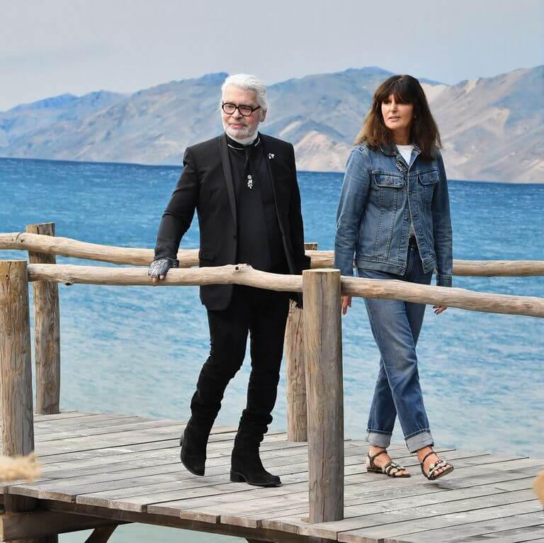 Chanel nombra a Virginie Viard como la sucesora de Karl Lagerfeld