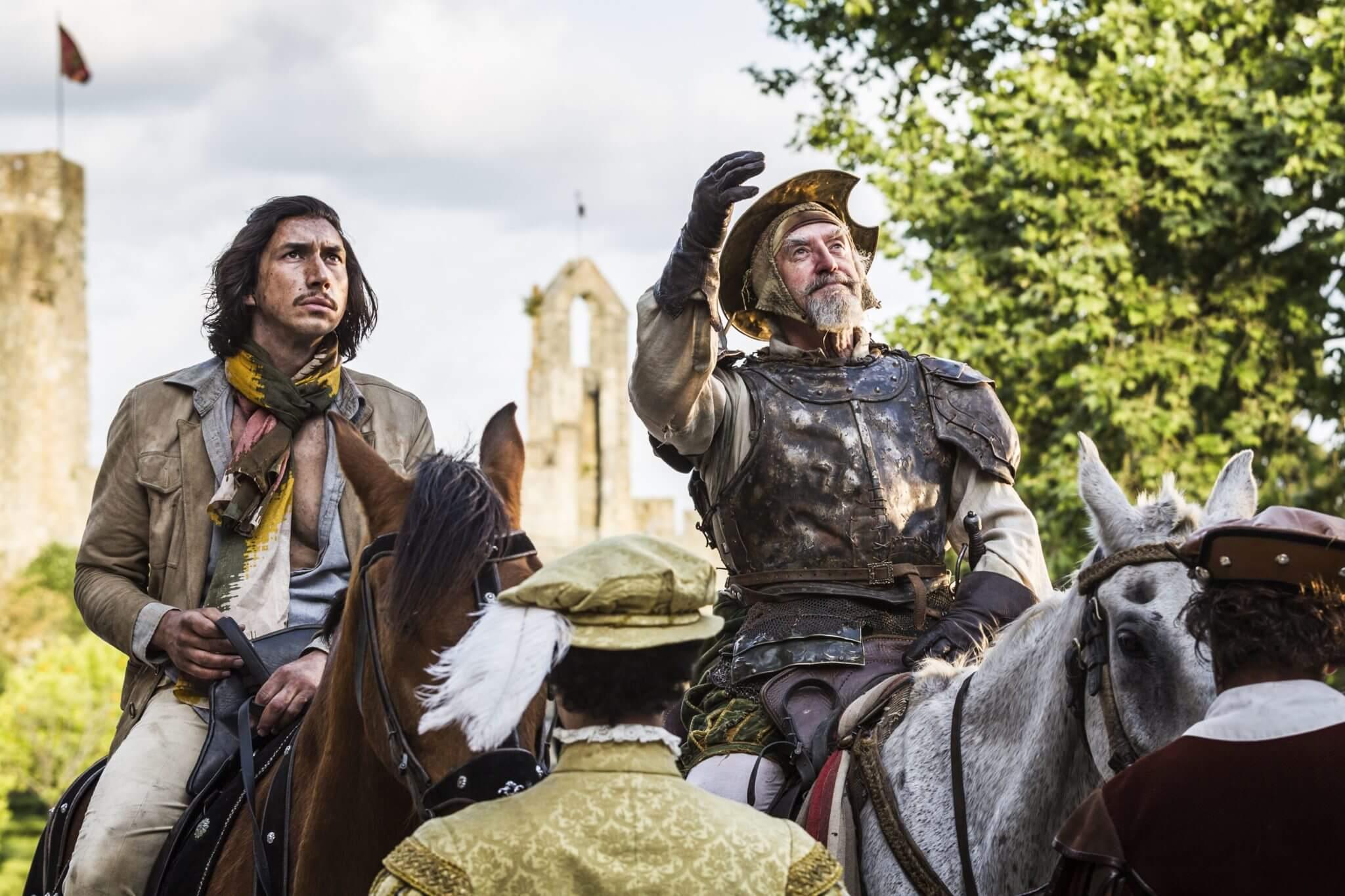 """""""The Man Who Killed Don Quixote"""": Adam Driver y Jonathan Price viven la fantasía de Terry Gilliam en un nuevo trailer"""