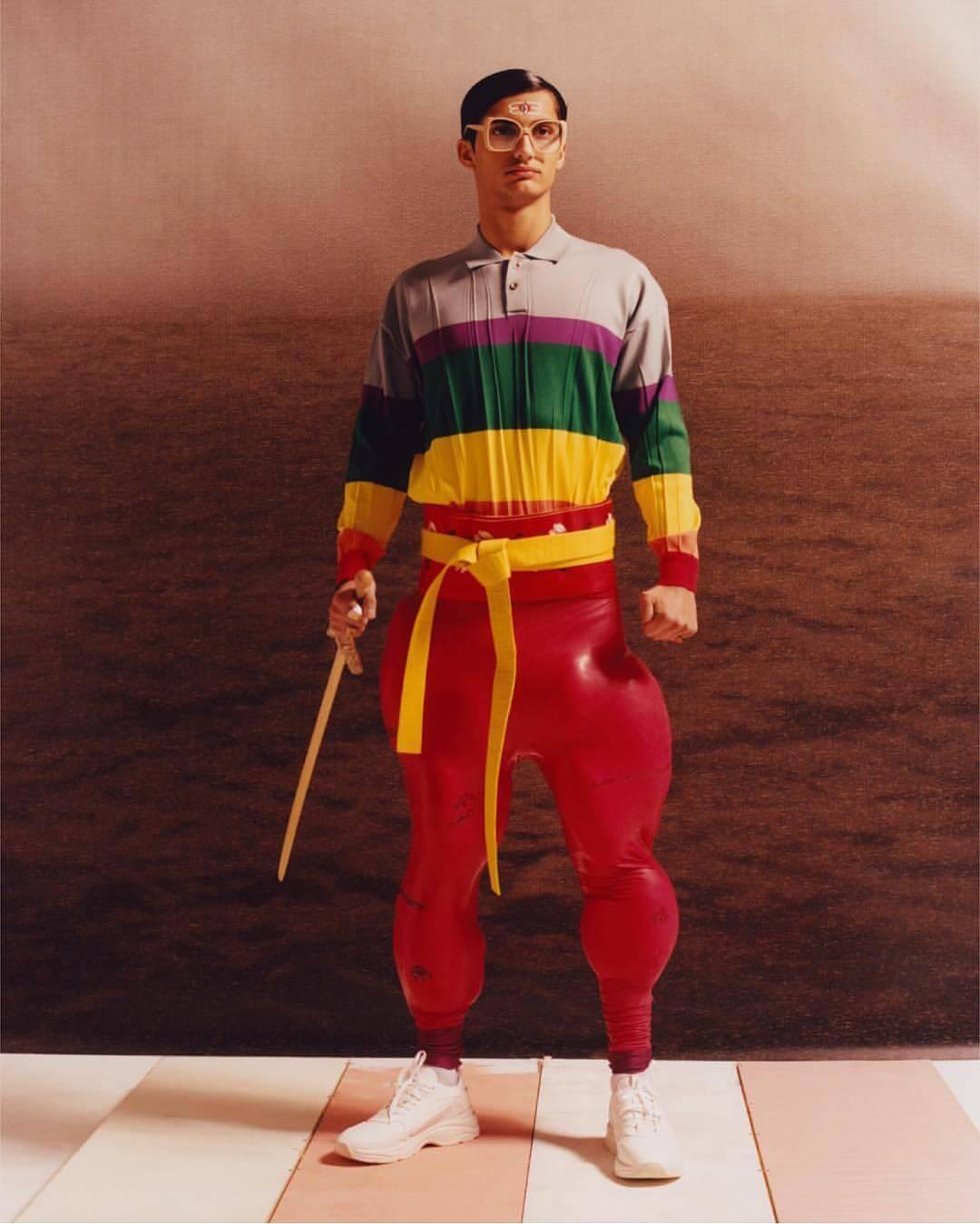 Pierre-Louis Auvray, el diseñador transgresor con una estética llena de aliens, músculos y fantasías freaky