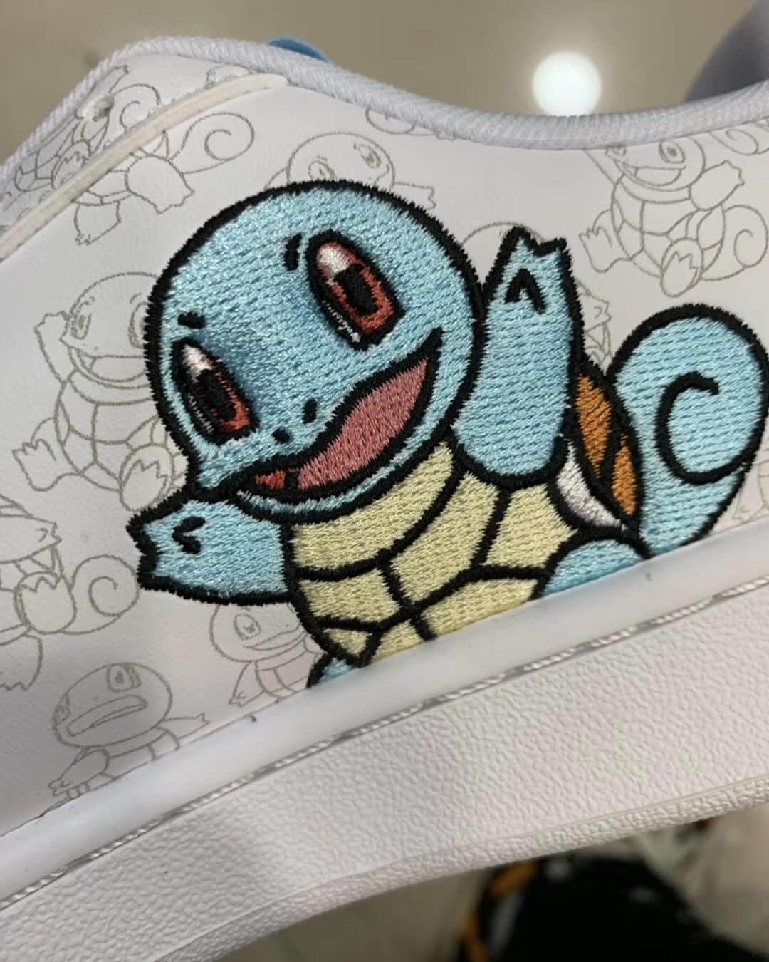 Parte de la rumorada nueva colección de Pokémon x adidas Originals. Imagen: @hugokickz/Instagram