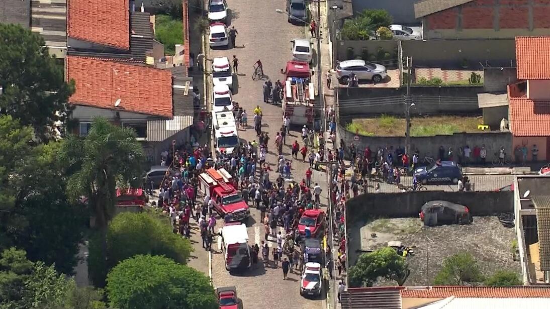 Todo lo que sabemos acerca del tiroteo en Brasil donde 2 adolescentes mataron al menos 8 personas
