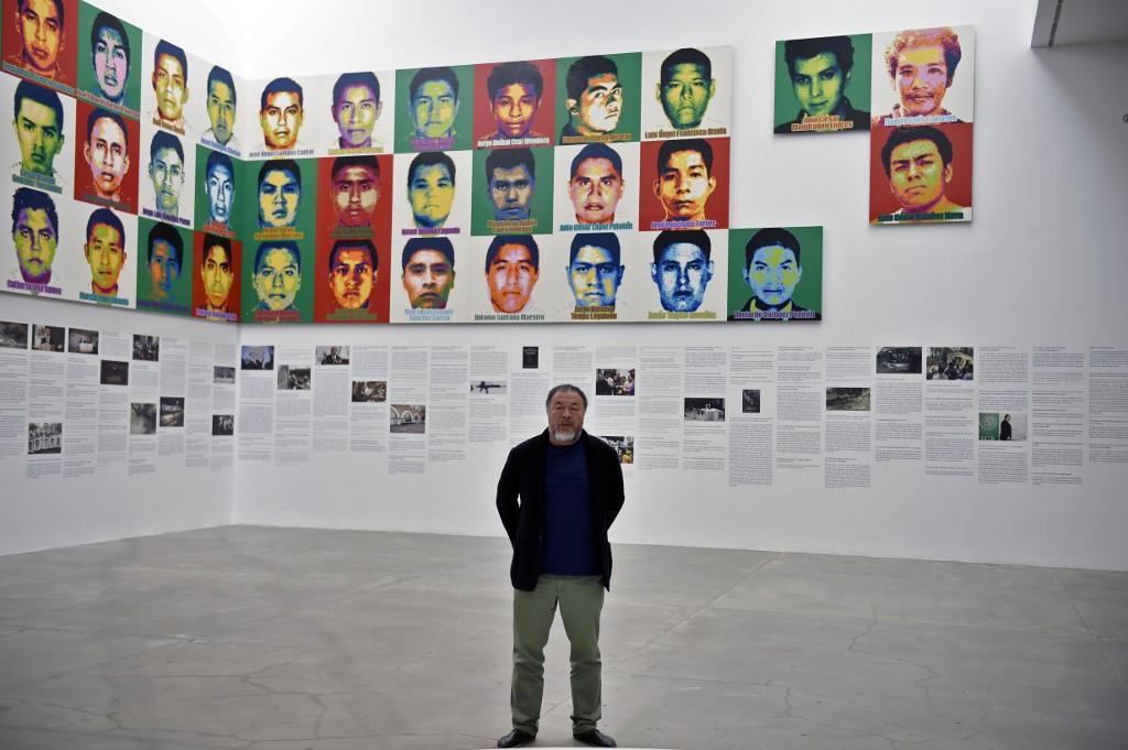 Ai Weiwei homenajea en México a los 43 estudiantes desaparecidos de Ayotzinapa con un millón de Legos