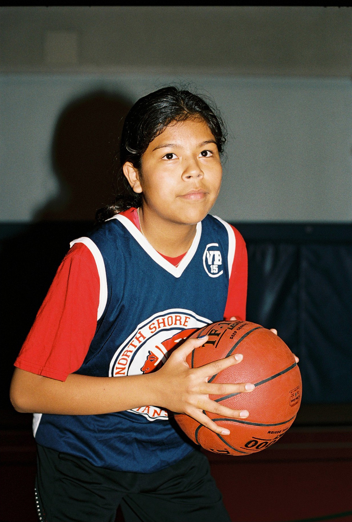 """Sḵwx̱wú7mesh Nation Basketball"" by Alana Paterson"