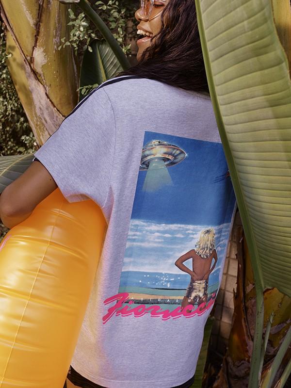 Fiorucci x adidas Originals. Fotografía: adidas