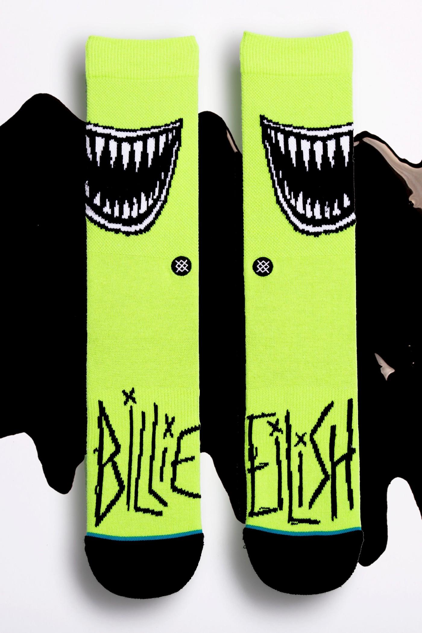 Billie Eilish x Stance. Fotografía: Stance