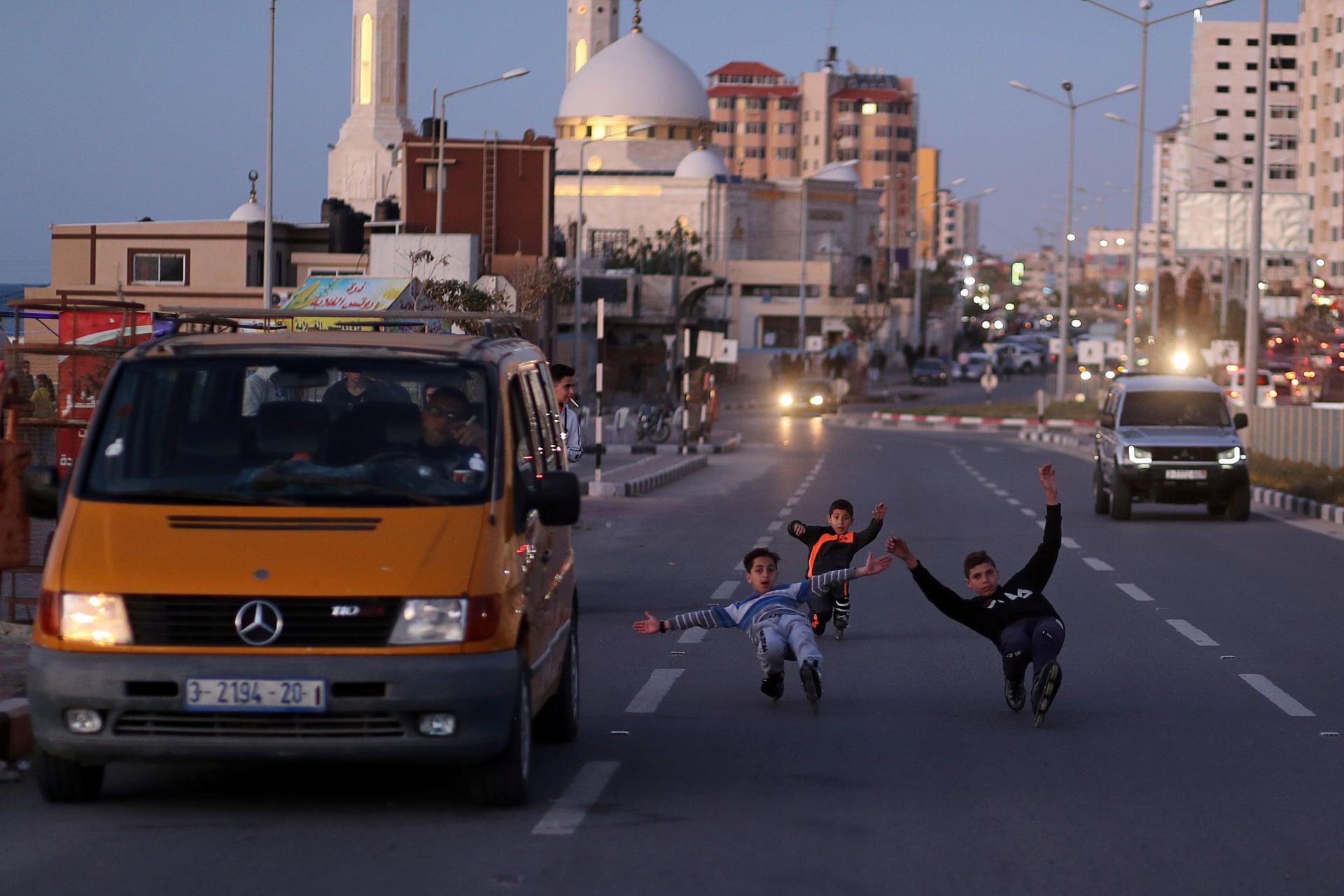 """""""Gaza Youth Skate"""", el grupo de skateboarders rebeldes que buscan la libertad sobre una patineta"""