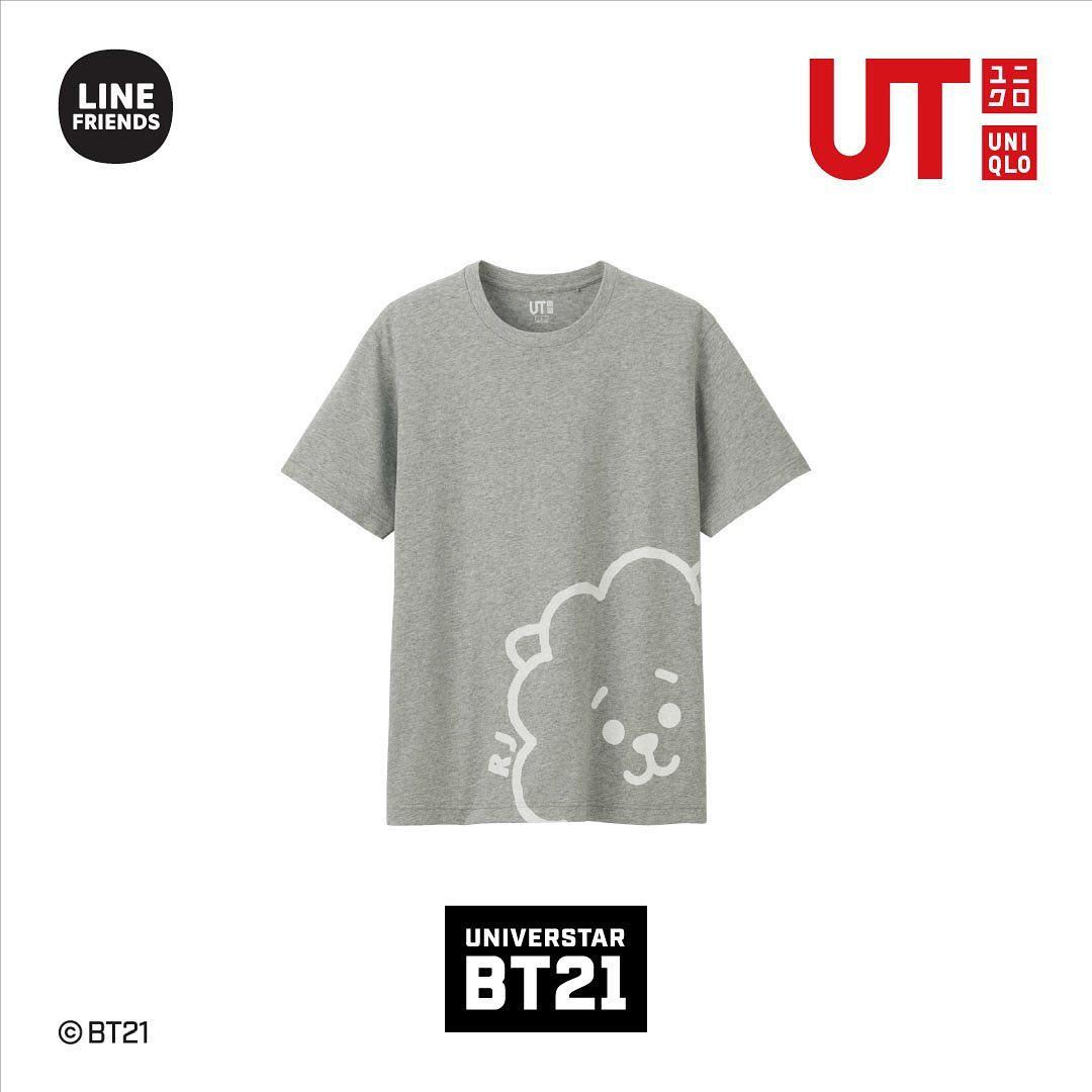 BT21. Fotografía: Uniqlo Instagram
