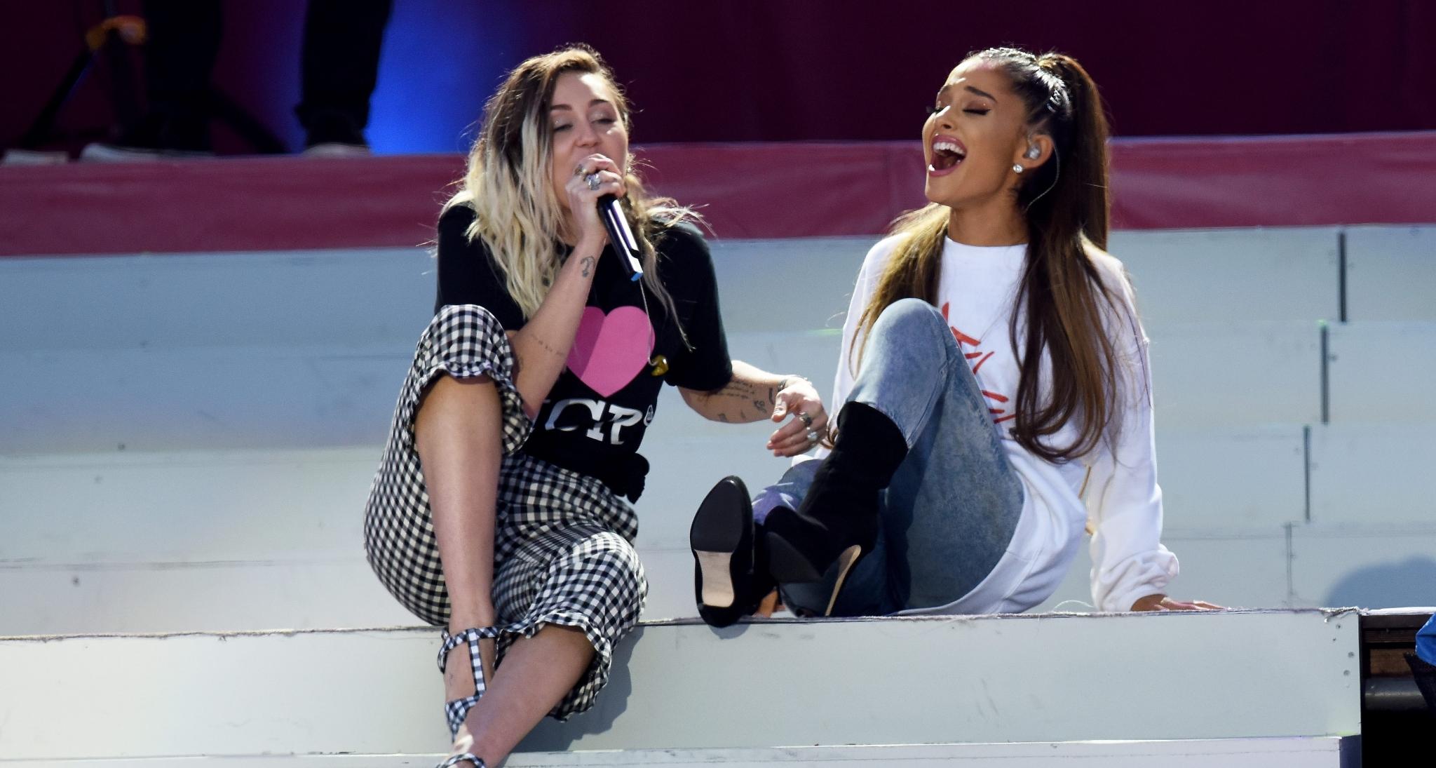 OMG! Ariana Grande, Miley Cyrus y Lana Del Rey confirman una colaboración juntas