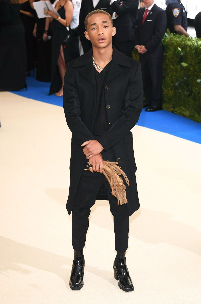 Jaden Smith en la Met Gala 2017. Fotografía: WireImage