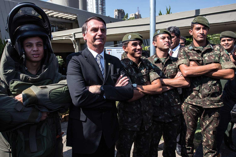 España: Militar de la comitiva de Bolsonaro detenido con 39 kilos de cocaína