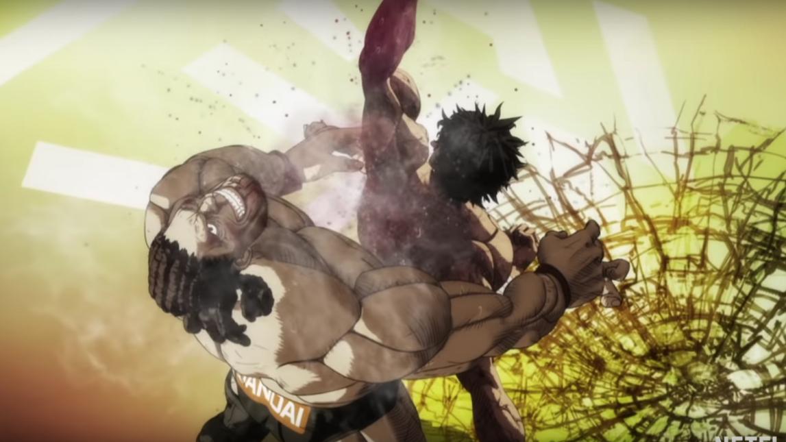 """""""Kengan Ashura"""", la nueva serie anime de Netflix que resuelve peleas a puñetazos"""
