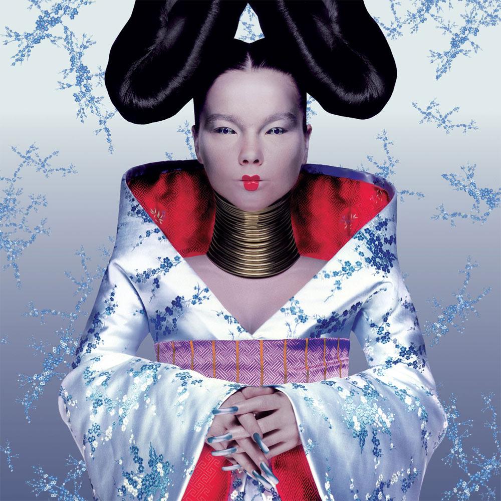 Björk. Fotografía: Nick Knight