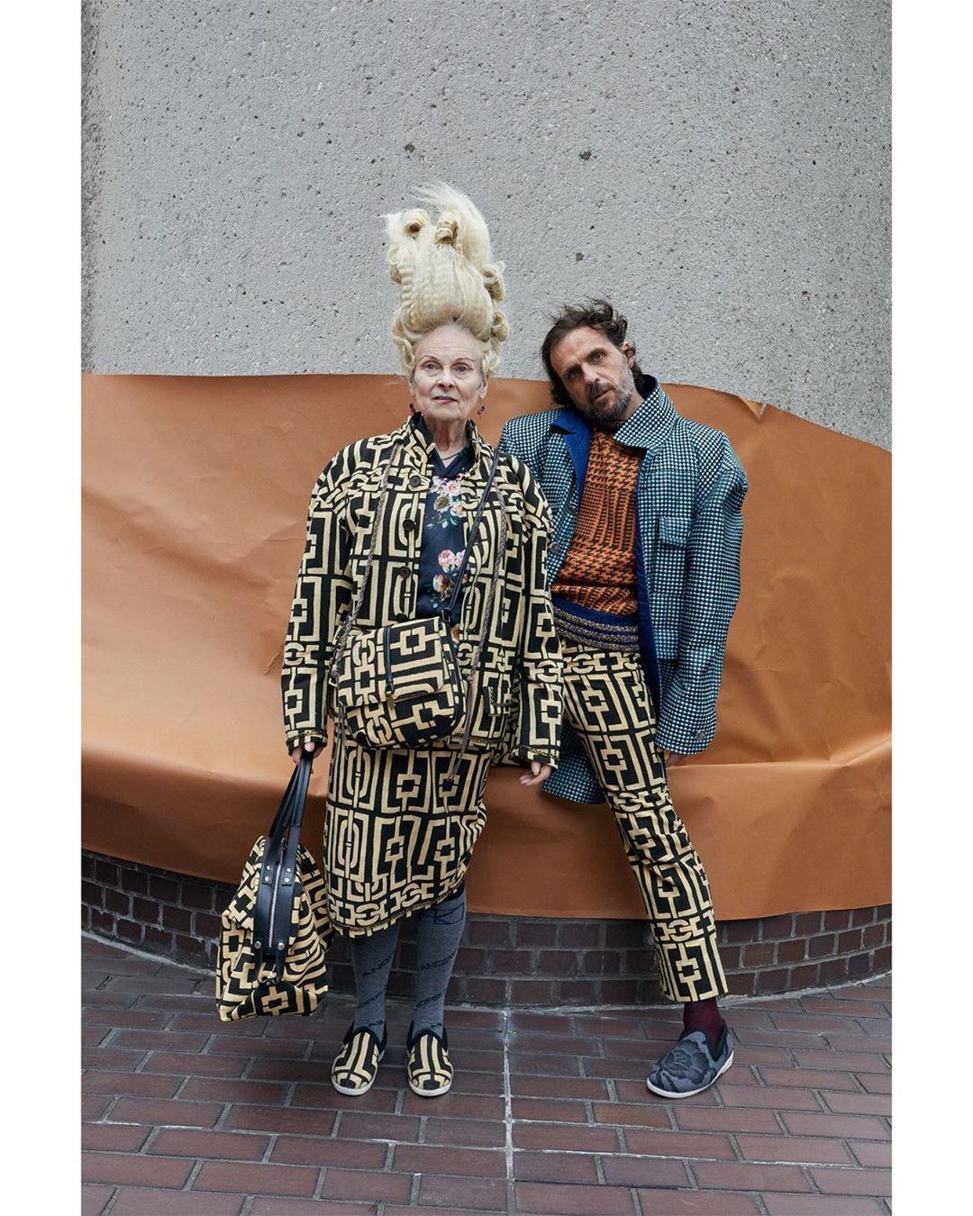 Colección otoño invierno de Vivienne Westwood. Foto: Vivienne Westwood/Instagram