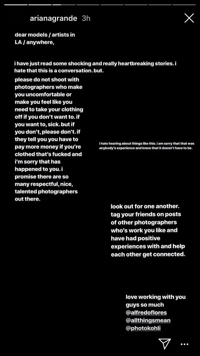 Imagen: Instagram/Ariana Grande