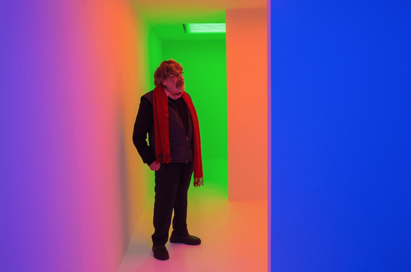 Carlos Cruz-Diez, pionero venezolano del arte cinético y el color, falleció a los 95 años