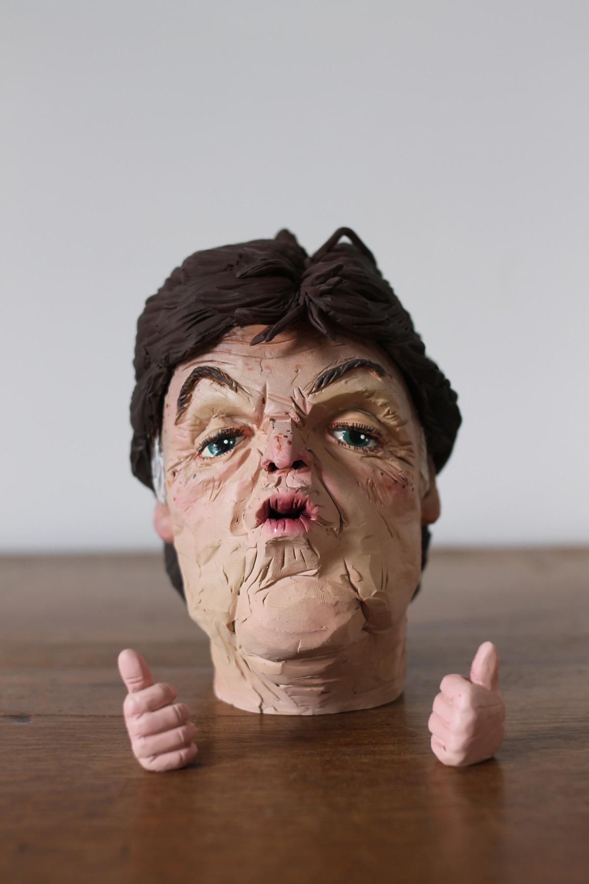 """Q&A con el artista Wilfrid Wood: """"El rostro humano es el objeto más interesante del universo"""""""