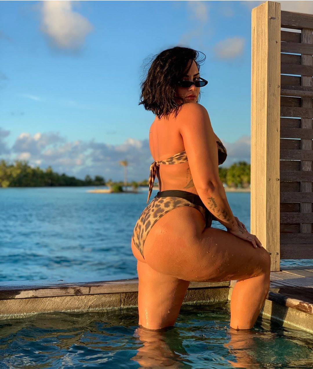 "Demi Lovato se enfrenta a su ""mayor miedo"": ""Una foto mía en bikini sin editar"""
