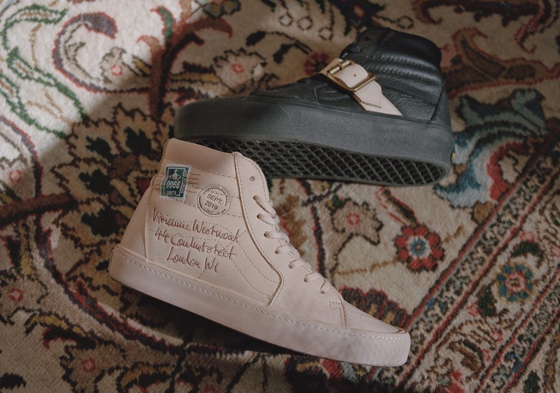 Vivienne Westwood reinterpreta sus estampados clásicos en esta colaboración skate con Vans