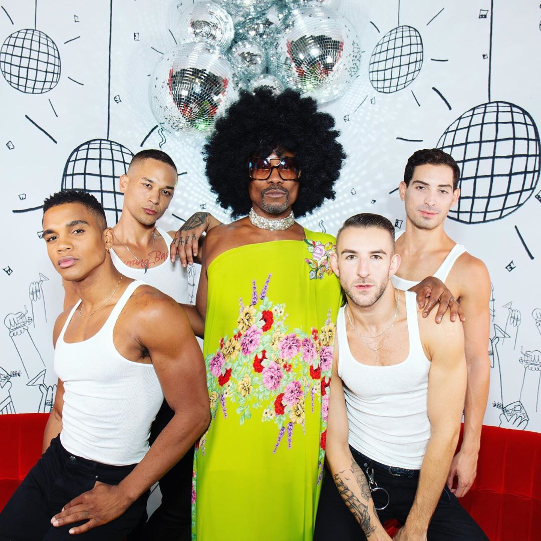 Billy Porter. Fotografía: Instagram