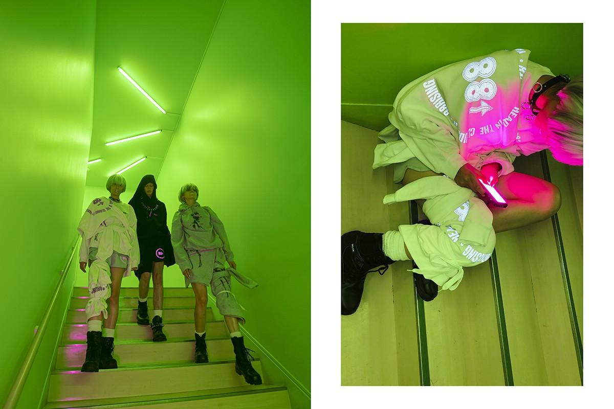 88rising crea junto al ilustrador japonés Hajime Sorayama una merchandise futurista y reflexiva