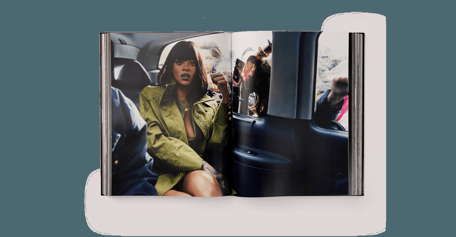 """""""Rihanna: The Book"""". Fotografía: Phaidon"""