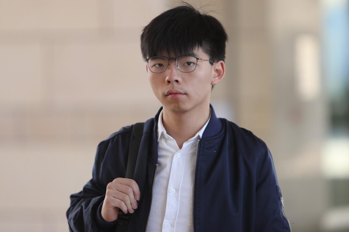 Hong Kong le prohíbe a Joshua Wong participar en las elecciones de su distrito