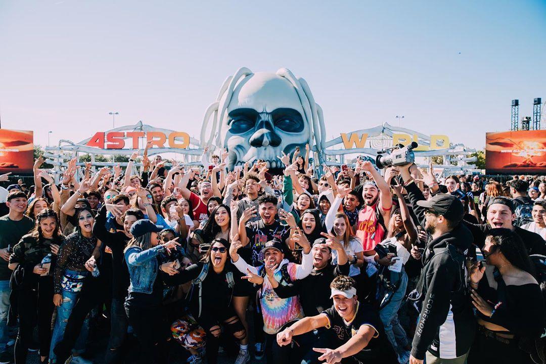 Esto fue todo lo que sucedió en el Astroworld Festival de Travis Scott