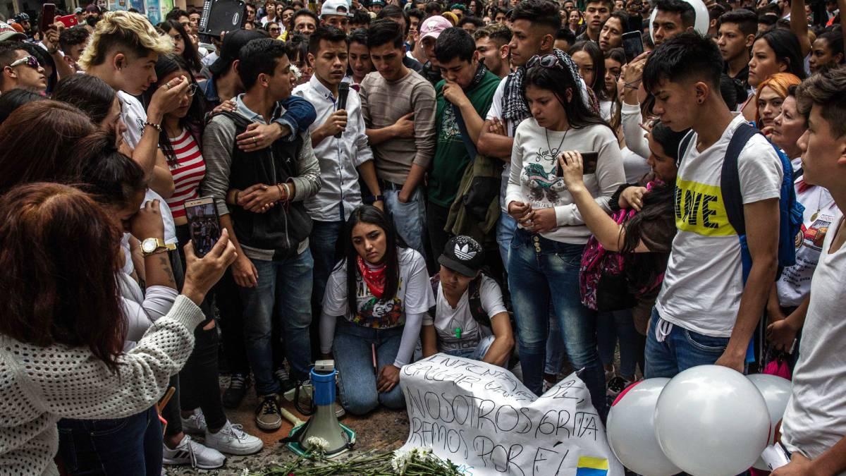 Muere Dylan Cruz, el joven baleado por la policía durante las protestas en Colombia