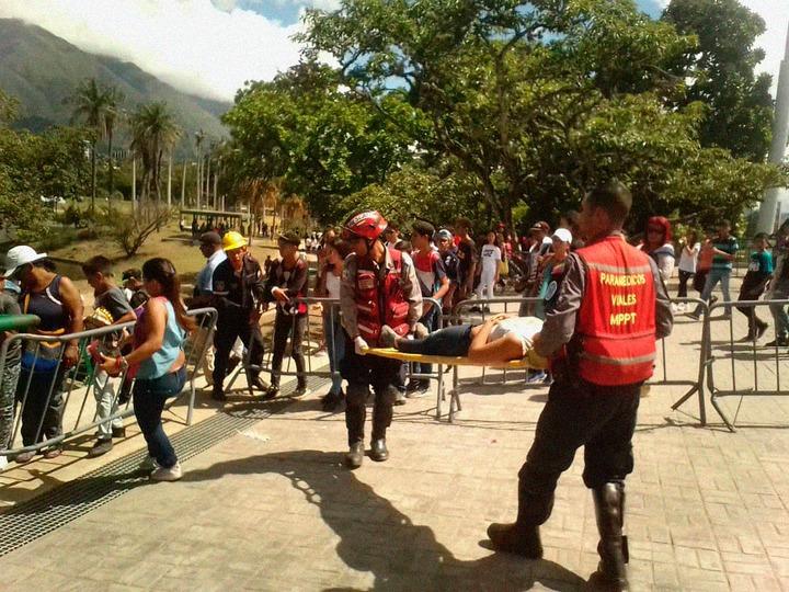 VIDEO: Un concierto de Neutro Shorty en Caracas provoca una estampida, un muerto y decenas de heridos