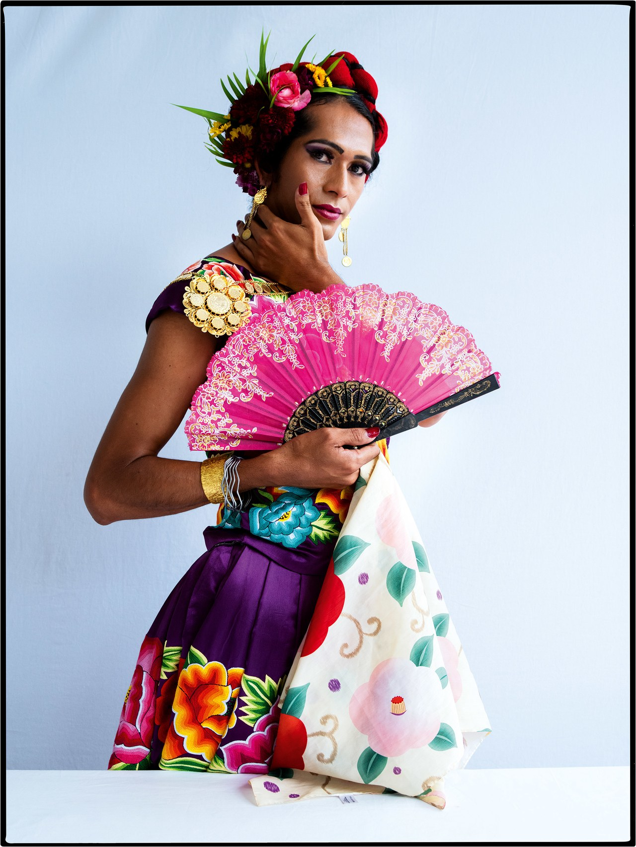 Conoce a Estrella Vázquez, la indígena transgénero mexicana que resalta por su exótica belleza