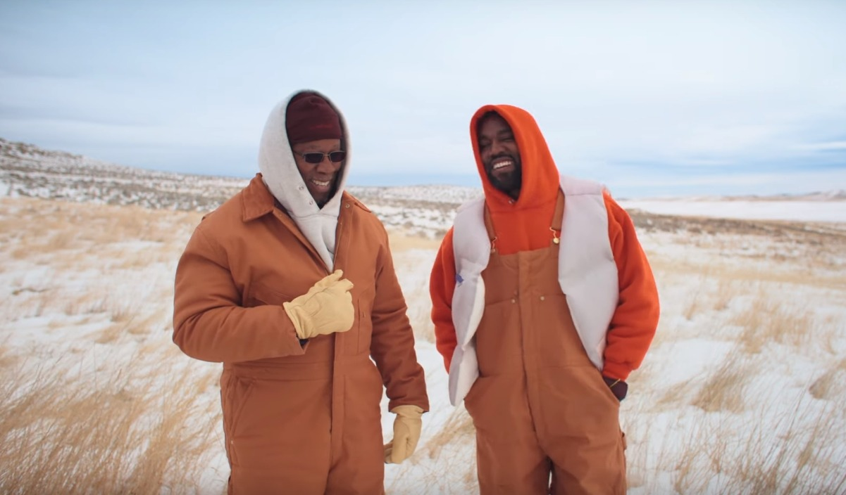 """Follow God"": Kanye West se va a Wyoming con su padre en su nuevo video"