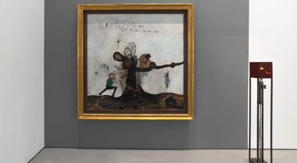 """""""Squeaky Flies in the Mud"""": Mira la exhibición artística de David Lynch que resalta el surrealismo en el que vivimos"""