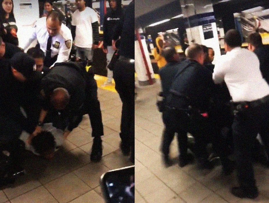 Nueva York: Jóvenes realizan evasión masiva en el pago del metro en protesta contra la violencia policial