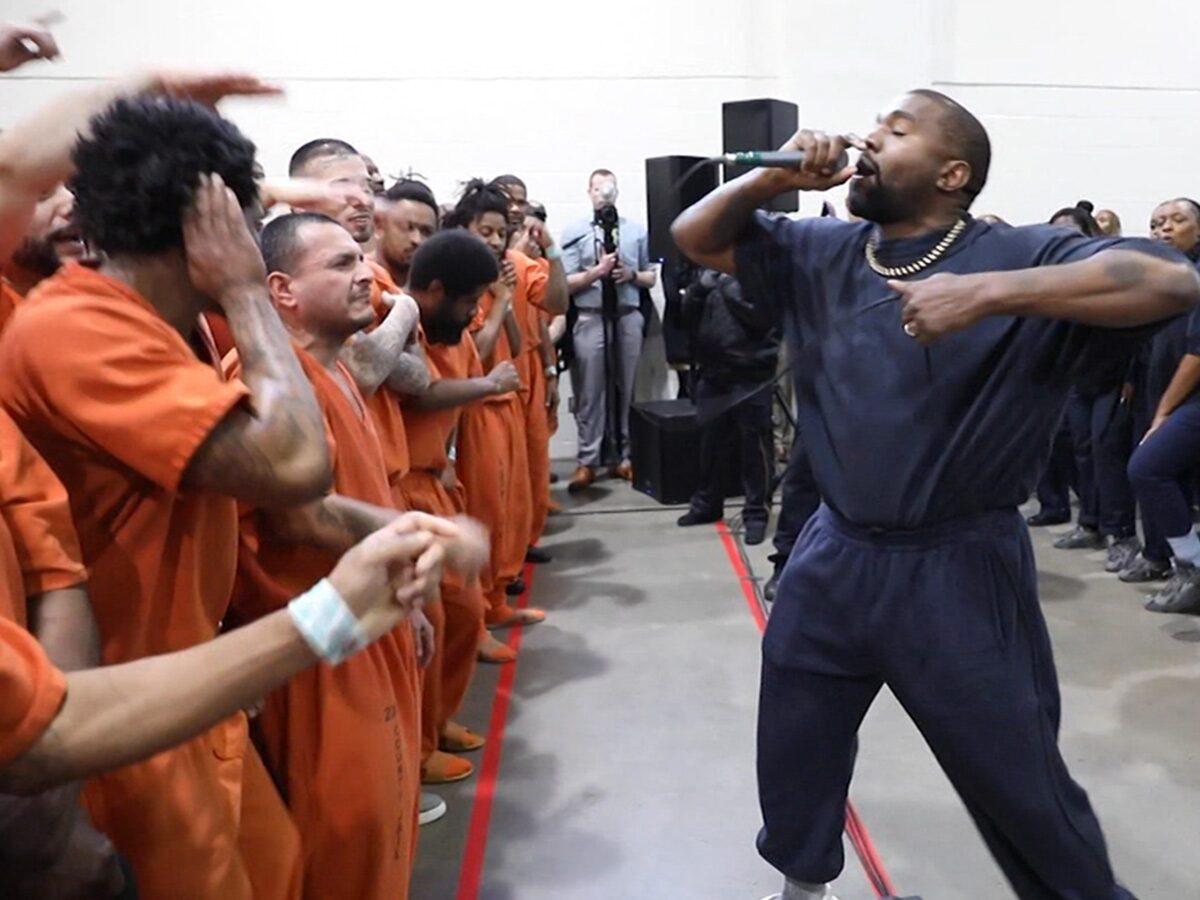 Todo acerca del Sunday Service que Kanye West hizo en una cárcel