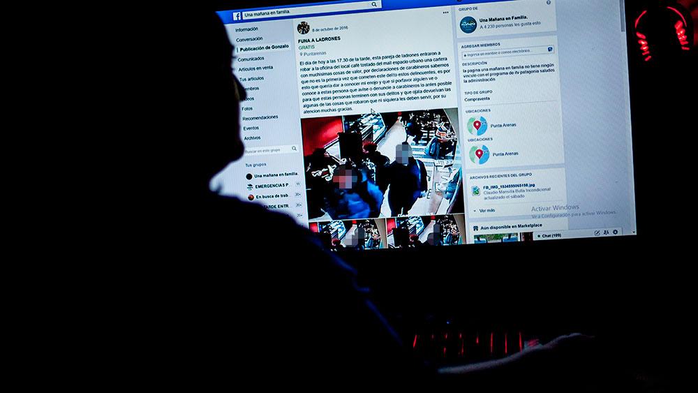 """Una """"funa"""" en Facebook. Fotografía: Radio Sol"""